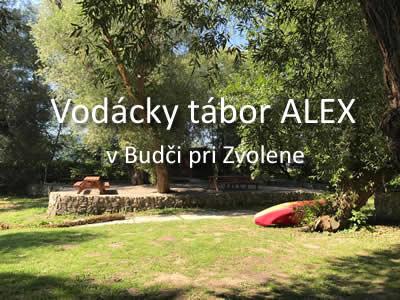 VODÁCKY TÁBOR ALEX – NOVINKY PRE ROK 2021
